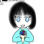 あなたのために花束を摘んできました。